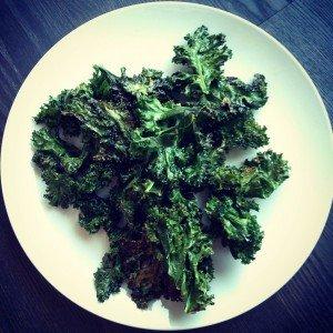 recette chips kale